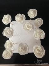 weiße Rosen (2)