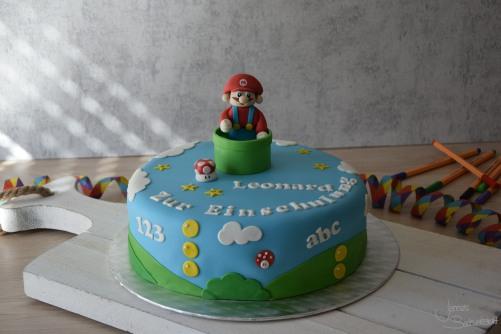 Super Mario Motivtorte (1)