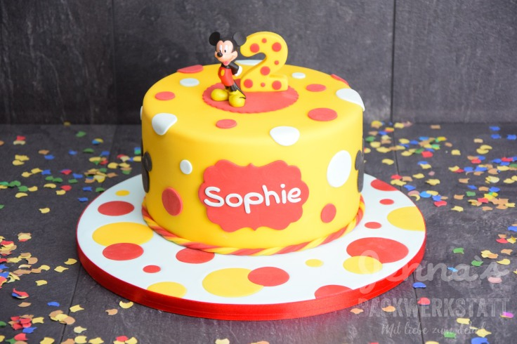 Mickey Maus Torte 1